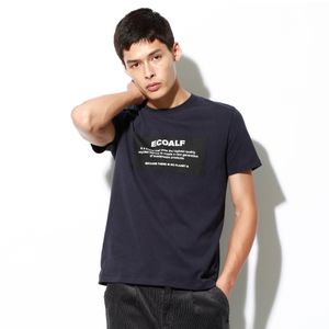 BECAUSE ロゴパッチ Tシャツ / NATAL PATCH ECOALF T-SHIRT