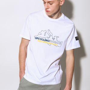 NATAL MEDITERRANEAN Tシャツ / NATAL UPYCLING MEDITERRANEAN T-SHIRT