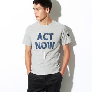 ACT NOW! Tシャツ / TADEO T-SHIRT MAN