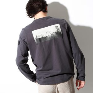 BECAUSE バックフォト ロンT / LONG SLEEVE MATEO T-SHIRT MAN