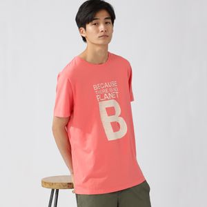 BECAUSE BIG B ウォッシュTシャツ / NATAL GREAT B WASHED T-SHIRT MAN