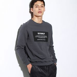 BECAUSE ロゴパッチ スウェット / SAN DIEGO PATCHLABEL SWEATSHIRT