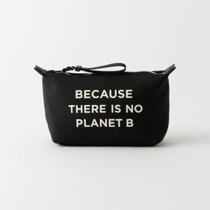 BECAUSE コンパクトポーチ / VANITY CASE WITH MESSAGE