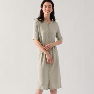 GINGER ニット ドレス / GINGER REVERSIBLE DRESS WOMAN