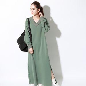 LAKE ニット ドレス / LAKE DRESS WOMAN