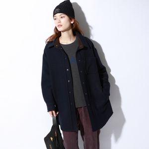 MONT BLANC シャツ ジャケット / MONT BLANC JACKET WOMAN