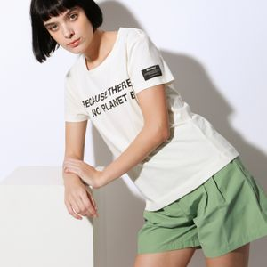 BECAUSE ウォッシュド Tシャツ / BECAUSE WASHED T-SHIRT