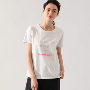 UNDERLINED BACAUSE Tシャツ / UNDERLINED BACAUSE T-SHIRT WOMAN