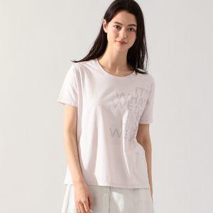 AQUA BACAUSE Tシャツ / AQUA BACAUSE T-SHIRT WOMAN