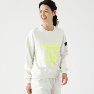 BECAUSE スウェットシャツ  / BECAUSE SWEATSHIRT WOMAN