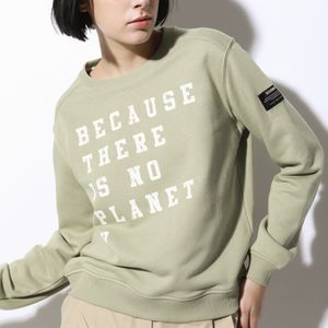 BECAUSE ウォッシュド スウェット / BECAUSE WASHED SWEATER