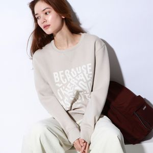 CORVARA BECAUSE スウェット  / CORVARA SWEATSHIRT WOMAN