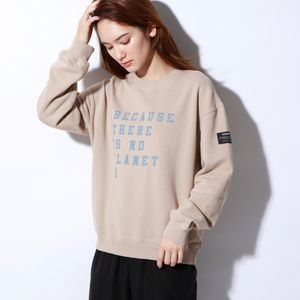 BECAUSE スウェットシャツ  / CERVINO SWEATSHIRT WOMAN