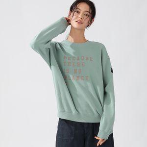 BECAUSE スウェットシャツ  / CERVINO SWEATSHIRT WOMAN