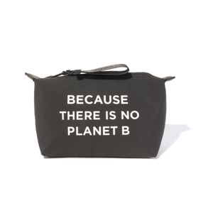 BECAUSE コンパクトポーチ / SMALL VANITY CASE W MESSAGE