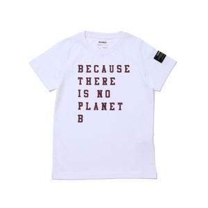 BECAUSE キッズTシャツ / NATAL BECAUSE PRINT WINE TSHIRT