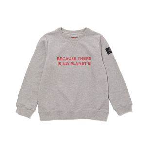 BECAUSE キッズスウェット / SAN DIEGO BECAUSE PRINT RED SWEATSHIRT