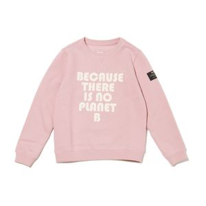 BECAUSE キッズスウェット / BUBBLE PRINT SWEAT BECAUSE KIDS
